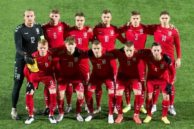 Lietuvos U-21 futbolo rinktinė   LFF nuotr.
