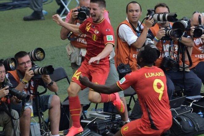 Belgijos rinktinė | AFP/Scanpix nuotr.