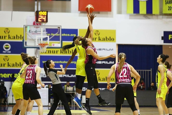 """""""Fenerbahce"""" ir ASVEL rungtynėse   FIBA nuotr."""