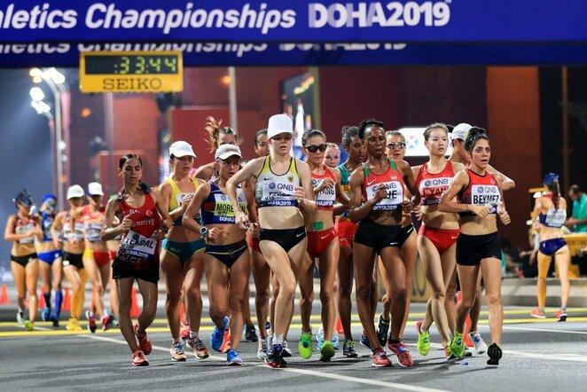 Moterų 20 km ėjimas | Scanpix nuotr.
