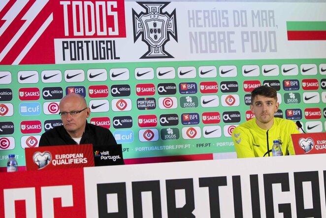Valdas Urbonas ir Fedoras Černychas | Diogo Pinto nuotr.