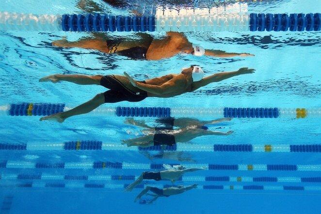 Plaukimas   AFP/Scanpix nuotr.