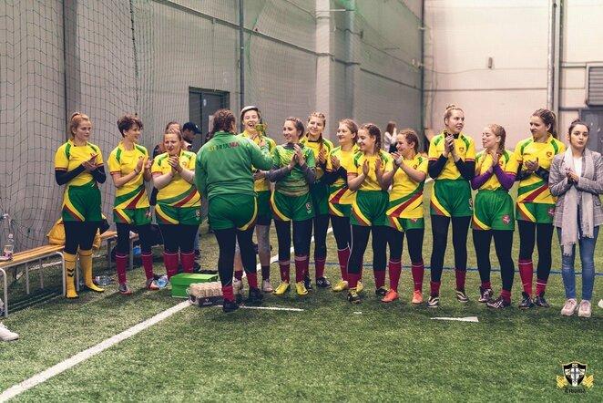 Lietuvos moterų regbio-7 rinktinė Latvijoje iškovojo bronzos medalius | Organizatorių nuotr.