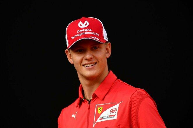 Mickas Schumacheris | Scanpix nuotr.