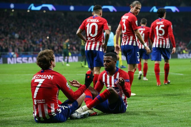 """UEFA Čempionų lyga: Madrido """"Atletico"""" - """"Monaco""""   Scanpix nuotr."""