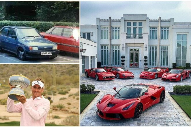 "Ianas Poulteris ir jo automobiliai | ""Scanpix"" ir instagram.com nuotr."