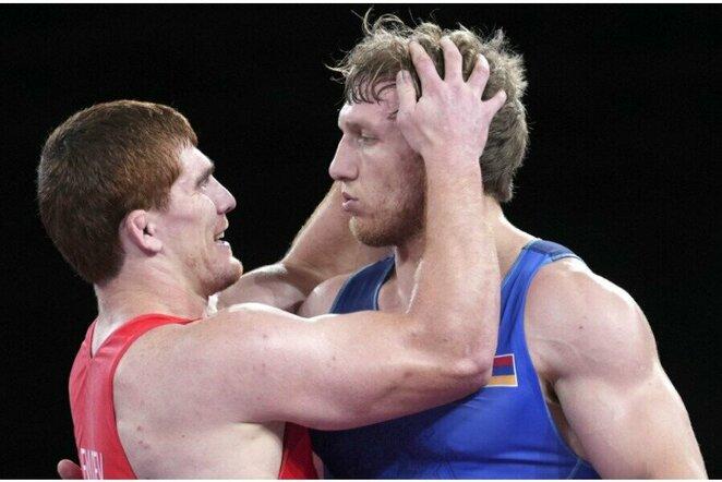 Musa Evlojevas ir Arturas Aleksanijanas   Scanpix nuotr.