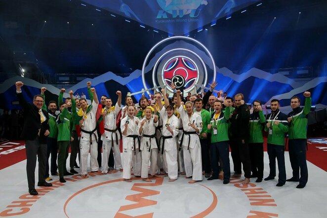 Pasaulio kiokušin karatė čempionatas   Algimanto Barzdžiaus nuotr.