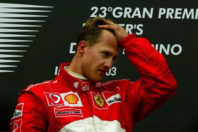Michaelis Schumacheris   Scanpix nuotr.