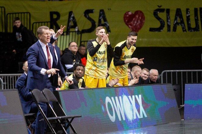 """""""Šiaulių"""" ir """"Lietkabelio"""" rungtynės   Josvydo Elinsko / BNS foto nuotr."""