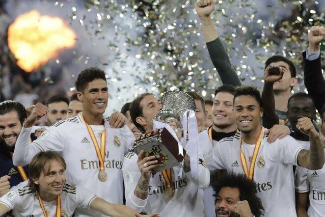 """Real"" komandos triumfas   Scanpix nuotr."