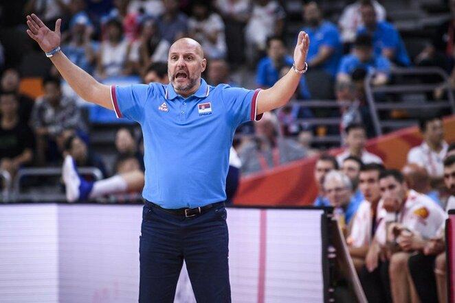 Argentina – Serbija rungtynių akimirka   FIBA nuotr.