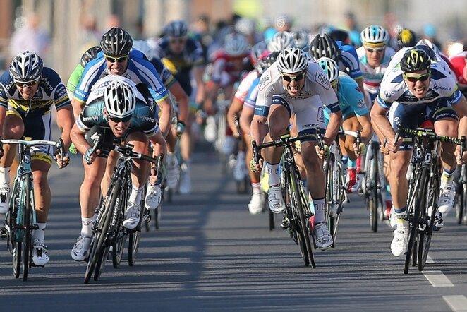 Aidis Kruopis (dešinėje)   AFP/Scanpix nuotr.
