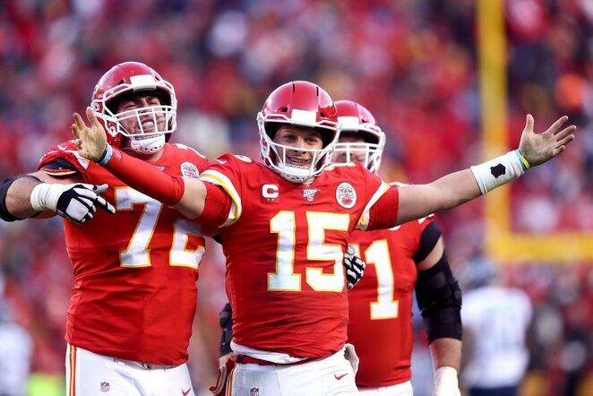 "Kanzas Sičio ""Chiefs"" | Scanpix nuotr."