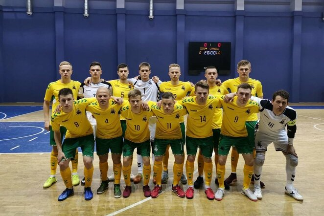 Lietuvos futsalo rinktinė | lff.lt nuotr.