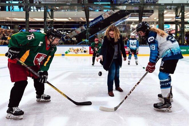 Moterų lygos startas | hockey.lt nuotr.