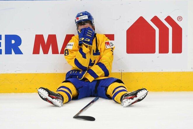 Suomių ir švedų rungtynės | IIHF nuotr.