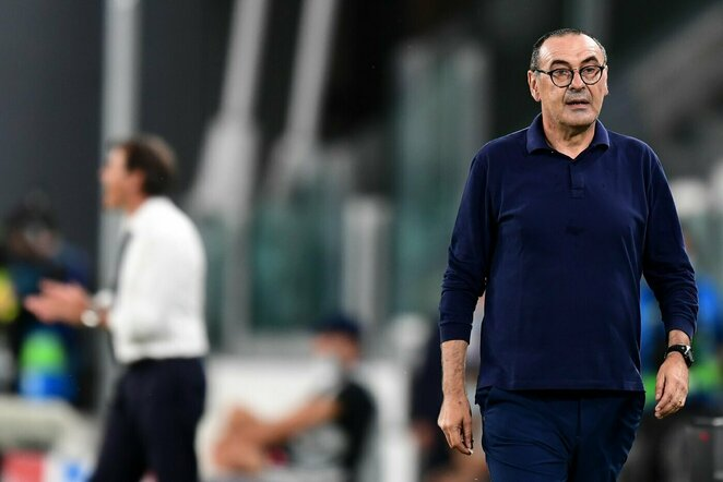 Maurizio Sarri   Scanpix nuotr.