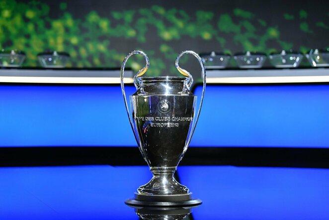 UEFA Čempionų lygos trofėjus | Scanpix nuotr.