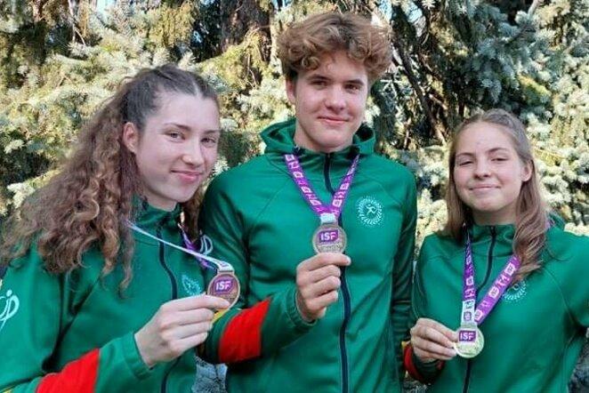Lietuvos moksleivių sporto asociacijos nuotr.   Organizatorių nuotr.