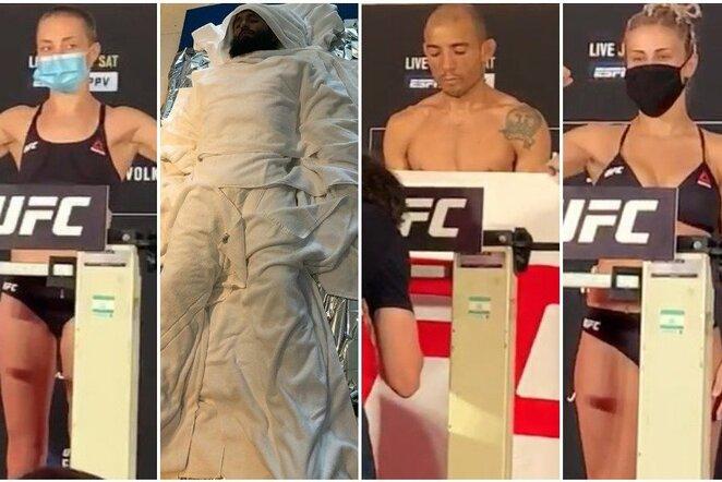 """UFC 251"" svėrimai   Youtube.com nuotr."