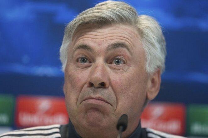 Carlo Ancelotti | AP/Scanpix nuotr.