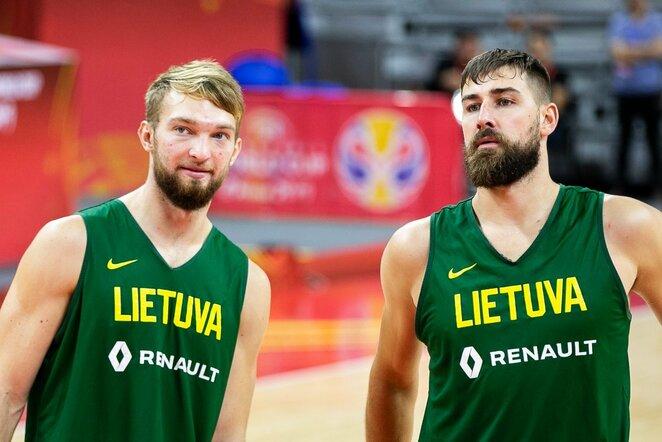 Domantas Sabonis ir Jonas Valančiūnas | Žygimanto Gedvilos / BNS foto nuotr.