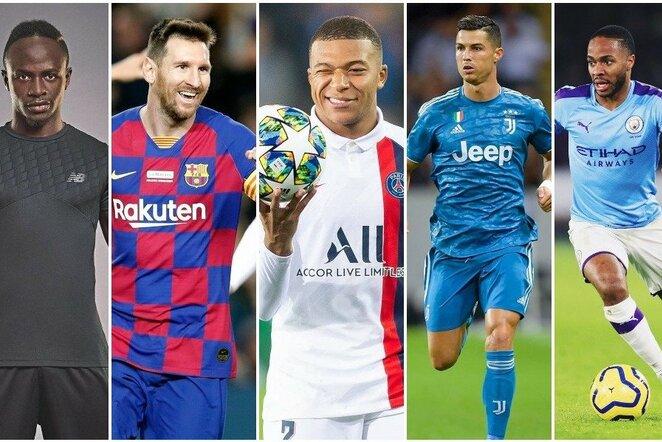 Vertingiausi pasaulio futbolininkai   Instagram.com nuotr