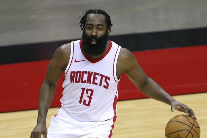 "5. Jamesas Hardenas (Hiustono ""Rockets"") – 40,82 mln.   ""Scanpix"" ir instagram.com nuotr."
