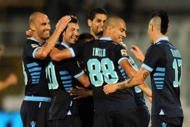 """""""Napoli"""" žaidėjai triumfuoja   LaPresse/Scanpix nuotr."""