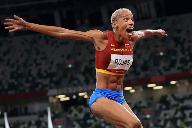 Yulimar Rojas   Scanpix nuotr.