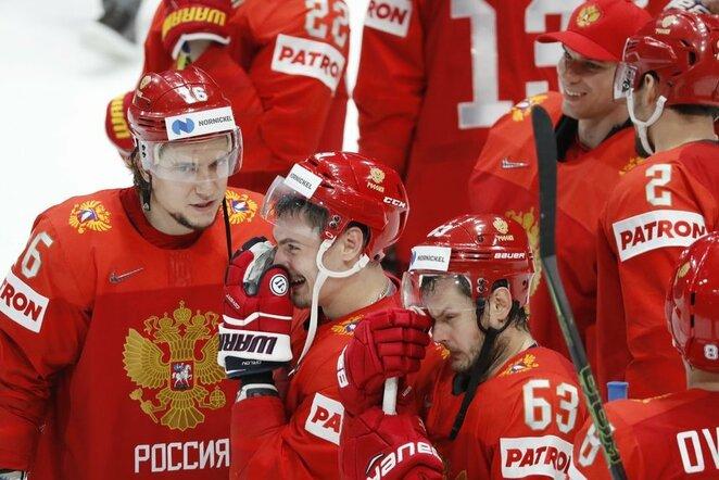 Rusijos ledo ritulio rinktinė | Scanpix nuotr.
