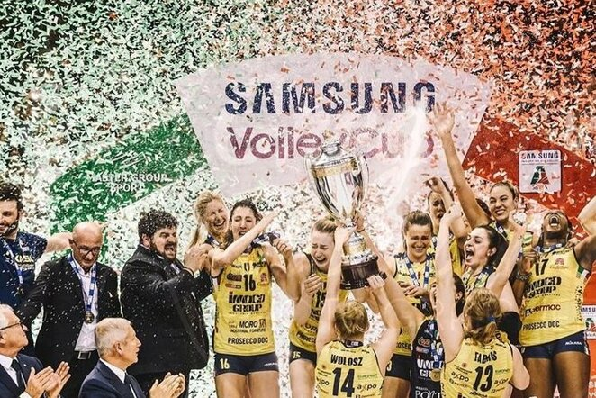 Italijos lygos čempionės | Instagram.com nuotr