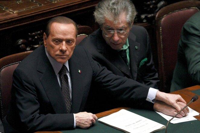 Silvio Berlusconi (kairėje)   Reuters/Scanpix nuotr.