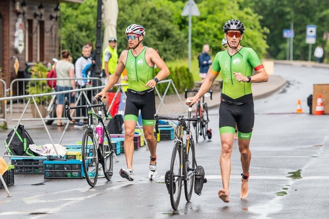 Trakų triatlonas | Organizatorių nuotr.