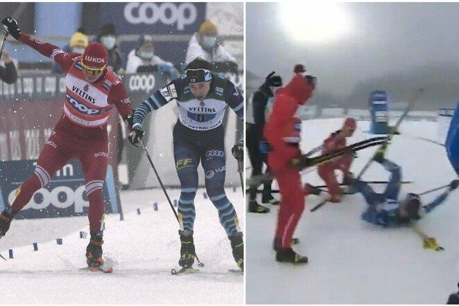 """Pasaulio slidinėjimo taurės etapas   """"Scanpix"""" ir instagram.com nuotr."""