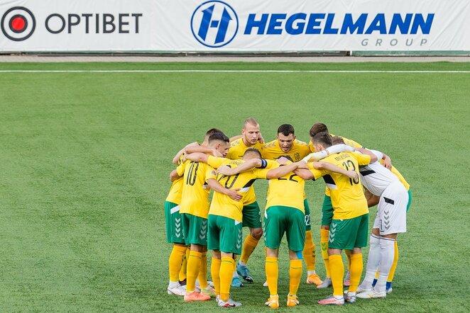 Lietuvos futbolo rinktinė | LFF nuotr.