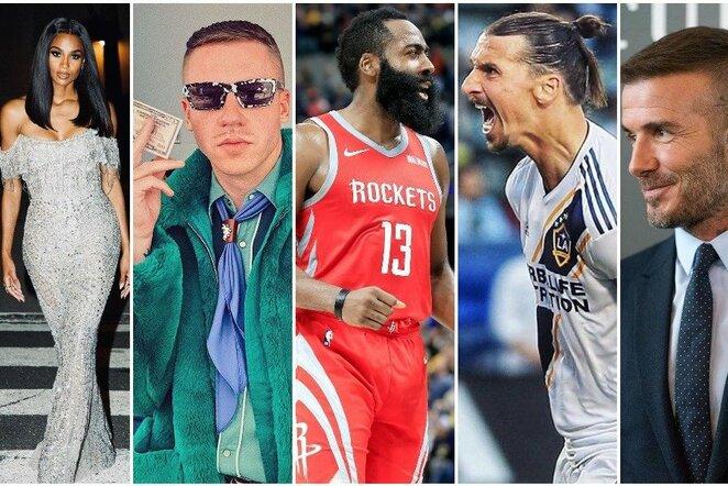 Zlatanas Ibrahimovičius ir MLS investuotojai   Instagram.com nuotr