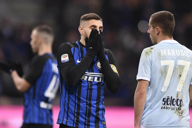 """Inter"" - ""Lazio"" rungtynių akimirka   Scanpix nuotr."