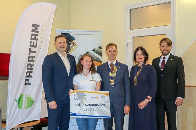 Paralimpietei A.Garunkšnytei – 367 milijonai paramos žingsnių l Parateam nuotr.