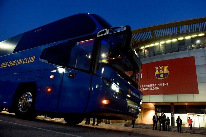 """Barcelona"" autobusas   Scanpix nuotr."