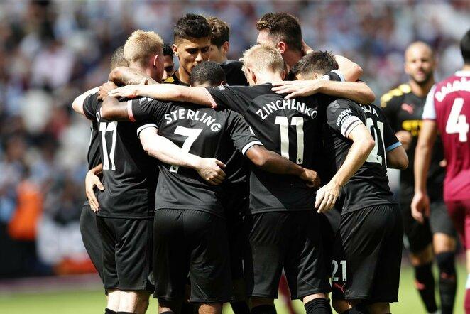 """Manchester City"" rungtynių akimirka | Scanpix nuotr."