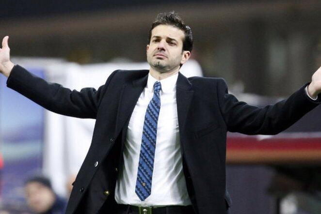 """Inter"" komandos treneris Andrea Stramaccioni | Reuters/Scanpix nuotr."