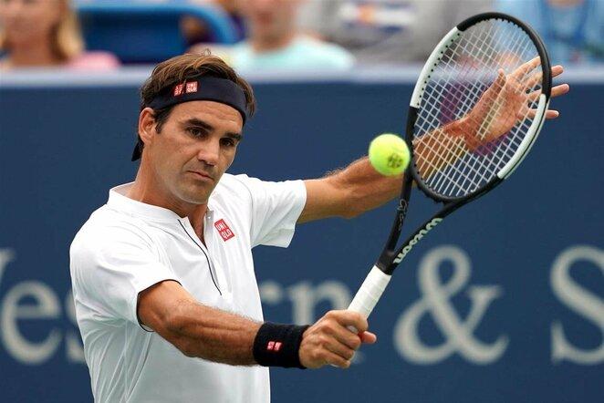 Rogeris Federeris prieš Leonardo Mayerį | Scanpix nuotr.