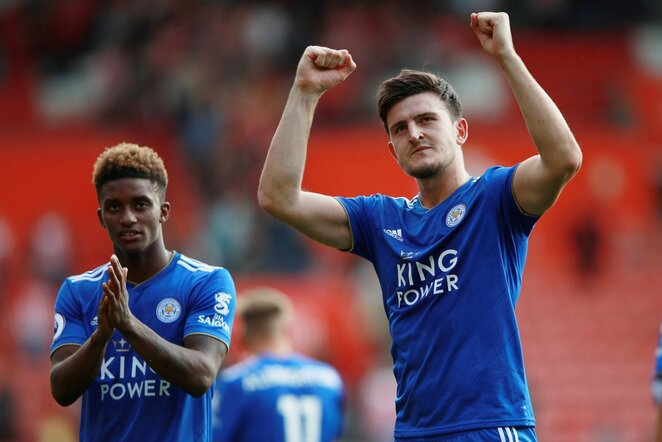 Harry Maguire'as   Scanpix nuotr.