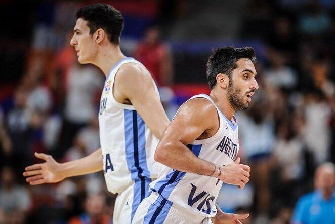 Argentina – Serbija rungtynių akimirka | FIBA nuotr.