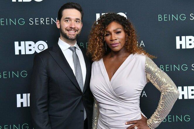 Alexis Ohanianas ir Serena Williams | Scanpix nuotr.