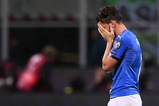 Pasaulio čempionato atranka: Italija - Švedija (2017.11.13) | Scanpix nuotr.
