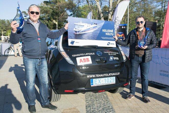 Elektromobilių lenktynės   Organizatorių nuotr.