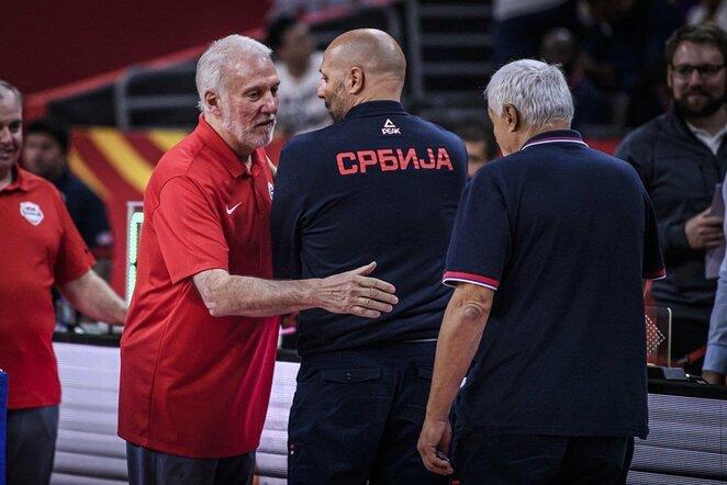 Popovičius ir Džordževičius | FIBA nuotr.